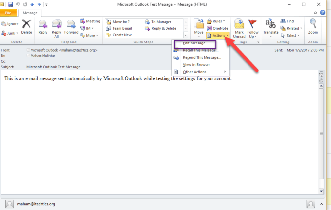 1 11 670x425 - How to Edit And Save Emails in Microsoft Outlook