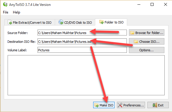 2 25 - Convert Files and Folders to ISO in Windows 10