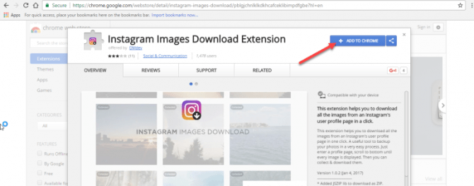1 18 670x263 - How to Download any Picture from Instagram Profile