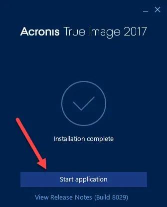 4 23 - Download Acronis True Image 2017 Offline Installer