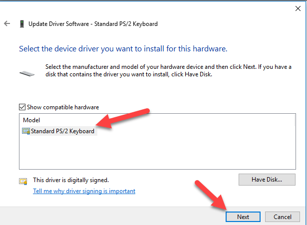5 13 - Keyboard Not Working Properly After Update from Microsoft Windows 10