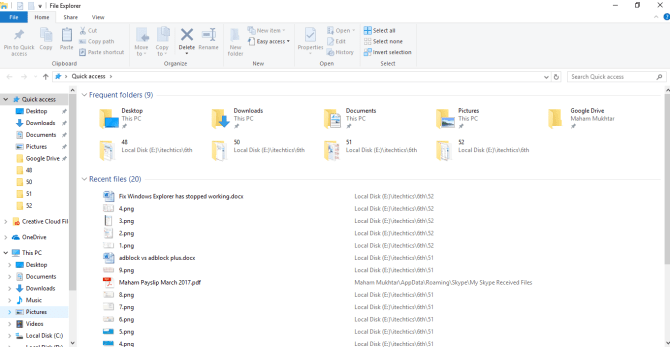 """5 12 670x347 - 4 Ways to Fix """"File Explorer has Stopped Working"""" Error in Windows 10"""