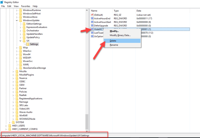 "7 6 670x464 - Remove ""Windows 10 Creators Update is on Its Way"" Message"