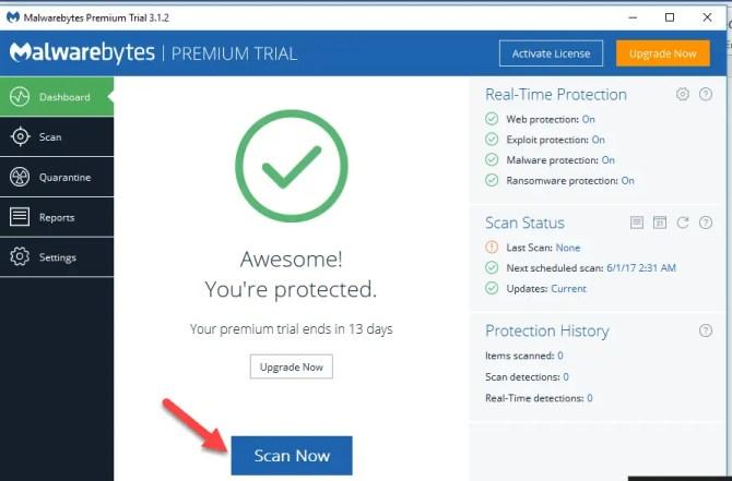 4 8 670x441 - Malwarebytes 3.1 Offline Installers Download For Windows