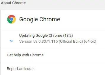 Google Chrome 60 offline installer
