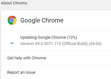 Google Chrome 60 offline installer