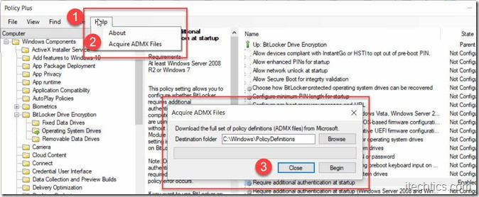 Policy Pro download admx policy files
