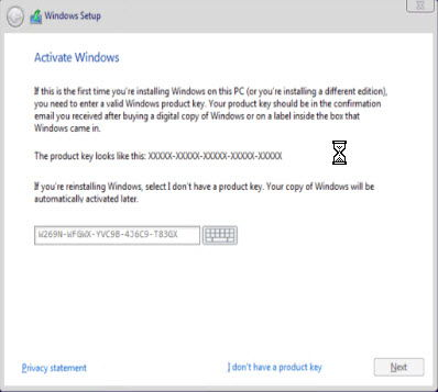 Windows 10 product activation keys all versions during installation windows 10 will ask you for a product activation key you will not be able to go ahead further without entering a valid key ccuart