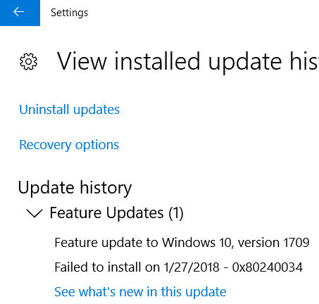 Download KB4090913 and installation issue