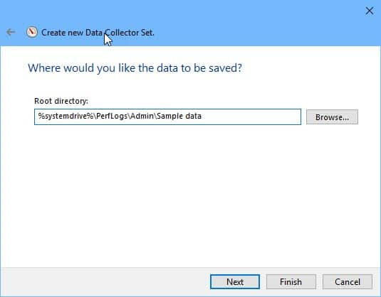 Save your performance report data 1