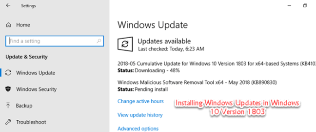 Download KB4345421 Cumulative Update For Windows 10 Version
