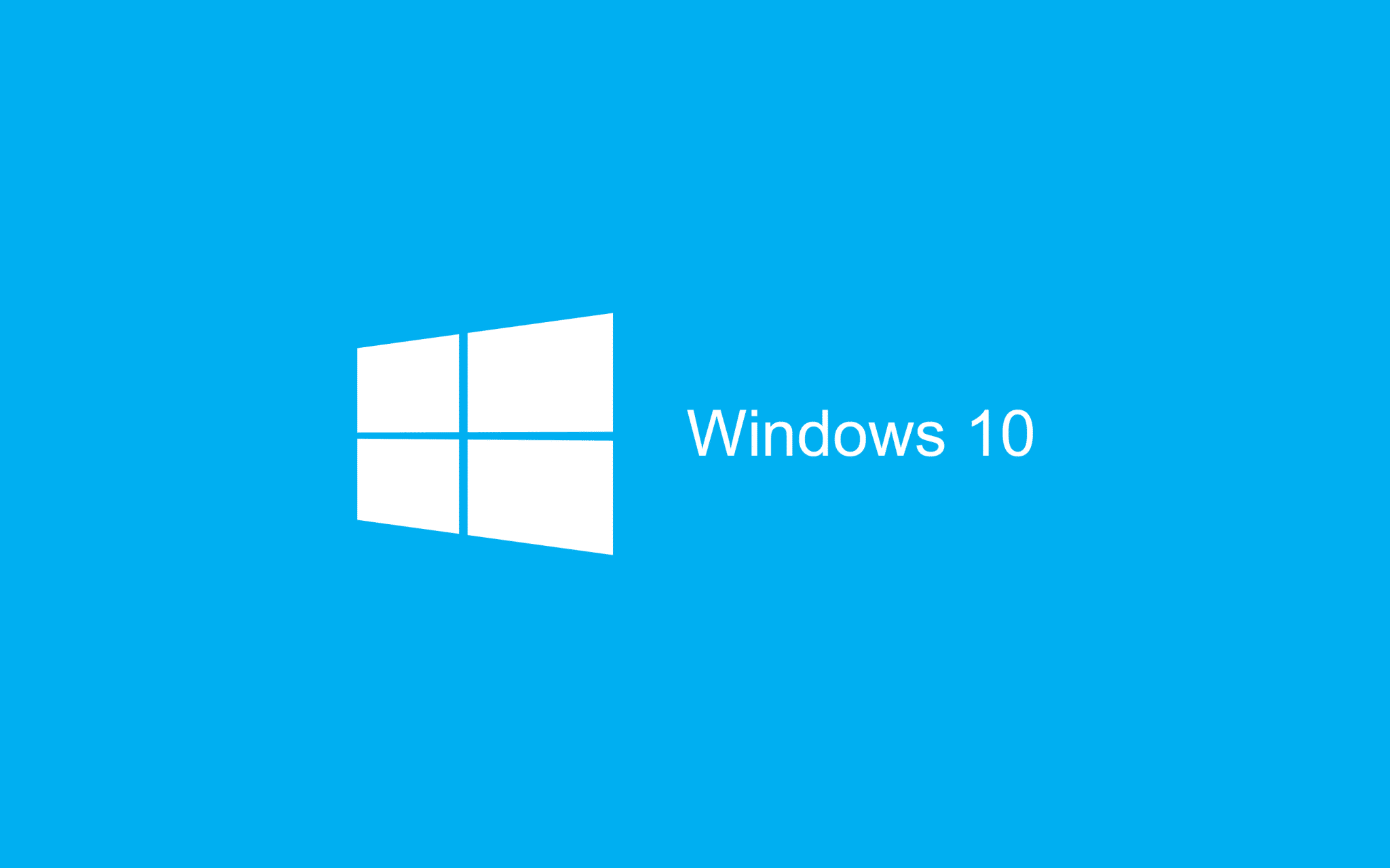 Blue Wallpaper Windows 10 HD 2880x1800