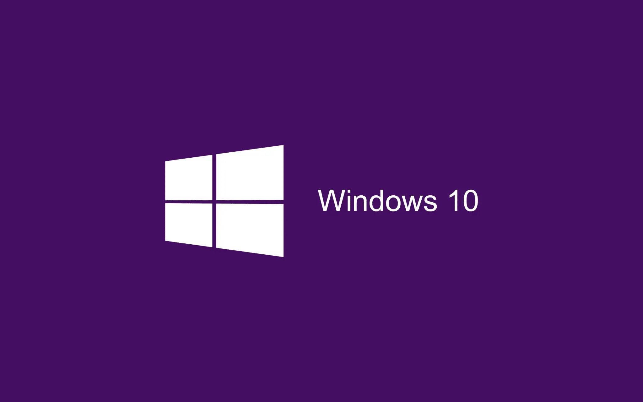 Purple Wallpaper Windows 10 HD 2880x1800
