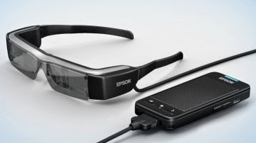 The Augmented Reality Smart Glasses Epson Moverio BT-200