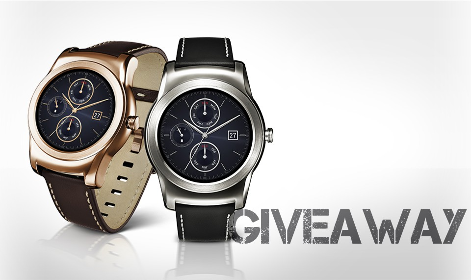 LG Watch Urbane Smartwatch Giveaway!