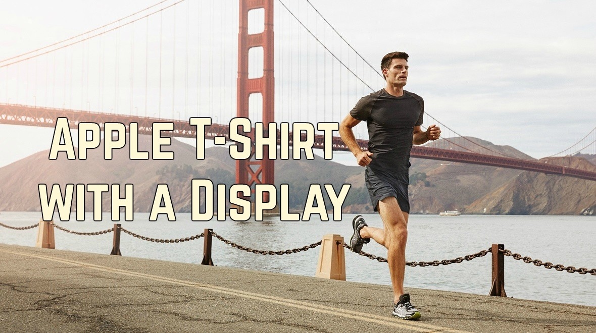 an Apple T-Shirt with a Display ?