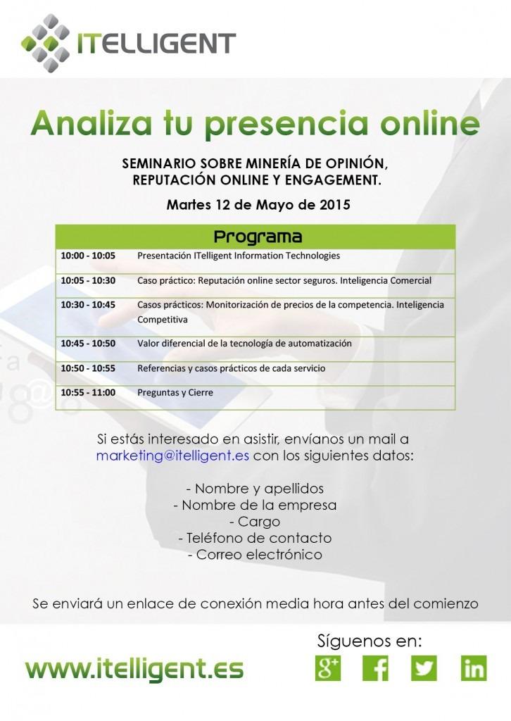 Analiza tu presencia online 2015