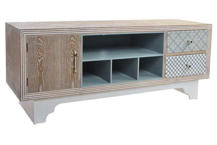 meuble tv bois mdf 138 5x43x55 5