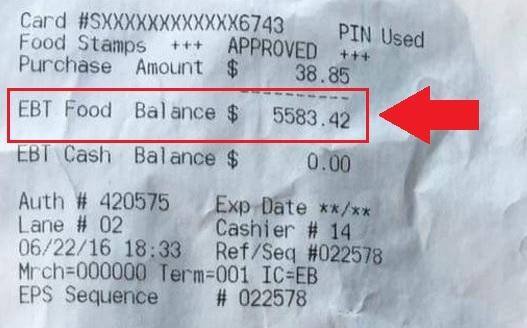 TN EBT Card Balance Check