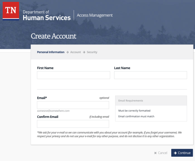 """""""how to create case connect account"""""""