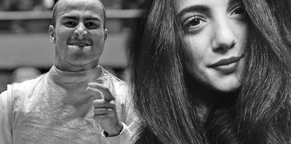 Alessio Foconi e Valeria Farinacci
