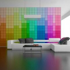 Best Colours For Living Room Feng Shui Old Country Ideas Por Qué Pintar Tu Habitación Si Puedes Tener Un Muro Que ...