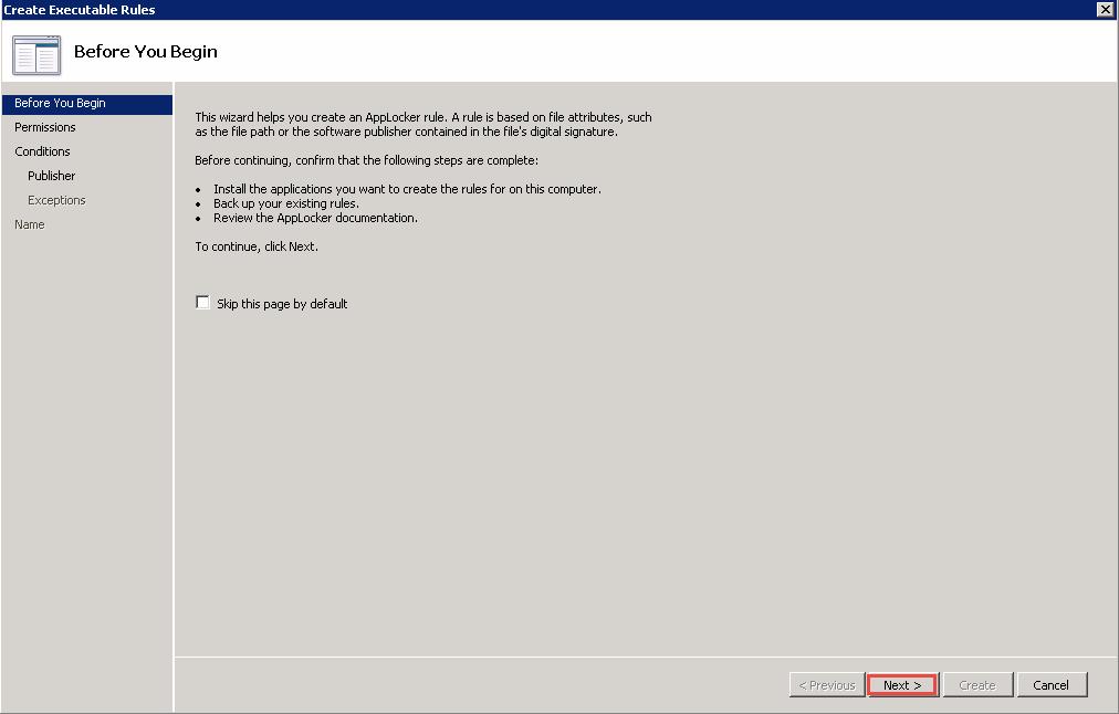 Block per user install on Remote Desktop Services 2012 R2