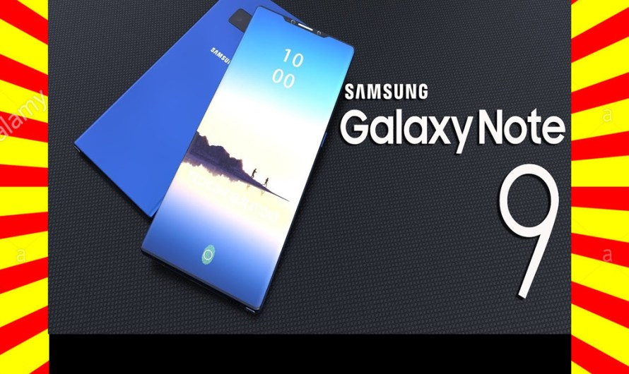 New Samsung Galaxy Note 9 Price & Specifications