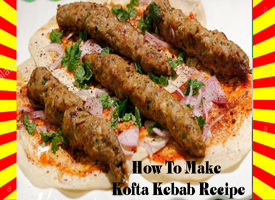 How To Make Kofta Kebab Recipe English and Urdu