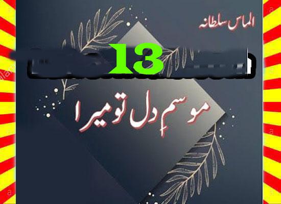 Mausam E Dil Tu Mera Urdu Novel By Almas Sultana Episode 13