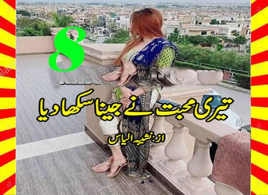 Teri Muhabbat Ny Jeena Sekha Diya Urdu Novel By Noshiba Ilyas Episode 8