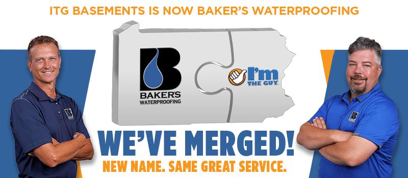 ITG Basements is Now Bakers Waterproofing