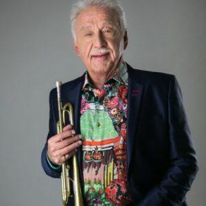 Large Trumpet Ensemble with Doc Severinsen @ The Alamo Plaza