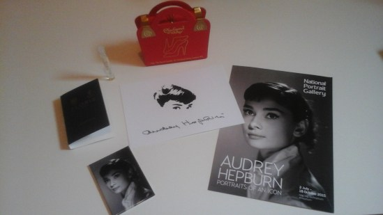 Audrey Hepburn _ NPG_Goody_bag