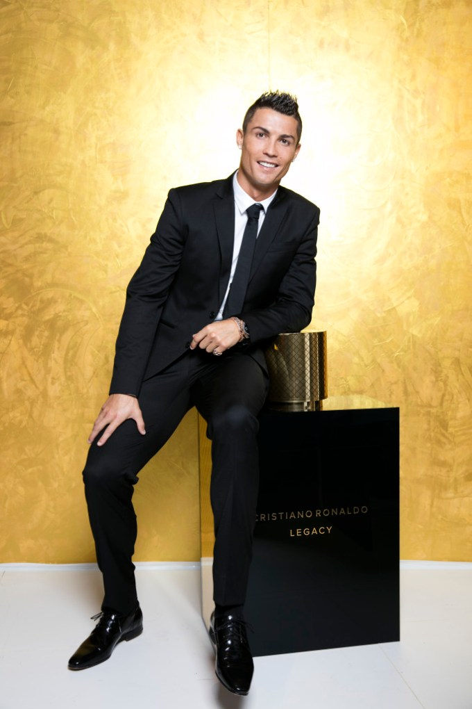 Cristiano Ronaldo unveils debut fragrence - 'Cristiano Ronaldo Legacy', hosting global launch party in Madrid