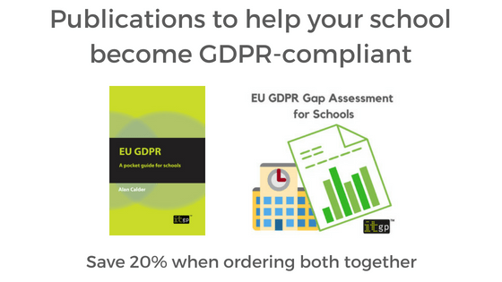 Publications to help your school become GDPR-compliant