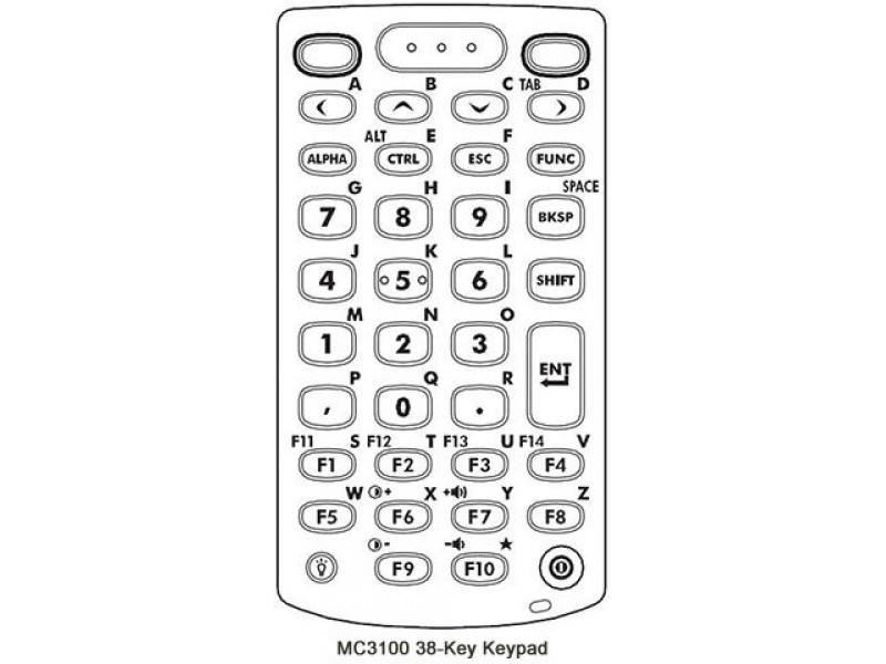 Terminal mobil Motorola Symbol MC3190, Straight Shooter