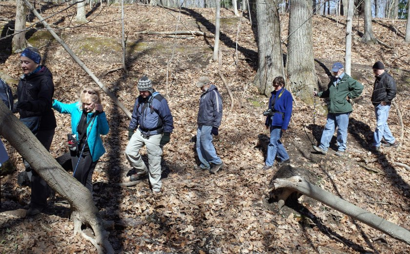 Six Mile Creek - rim trail 136