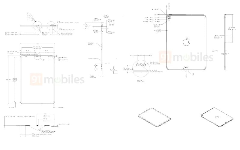 Alleged 10.8-inch iPad schematics show detailed images of