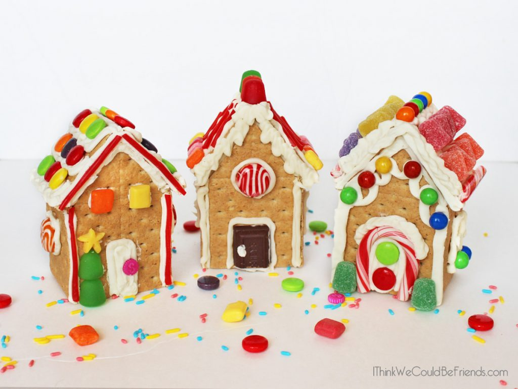 Diy Complete Gingerbread House Kit In A Bag Free