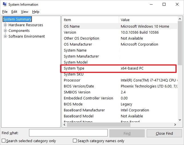 cara periksa komputer boleh support 64 bit atau tidak
