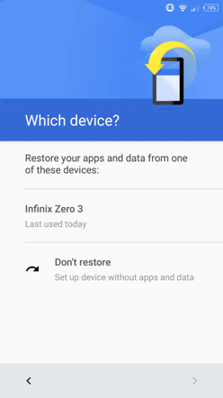 android restore pilih backup