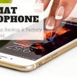 format handphone cara factory reset