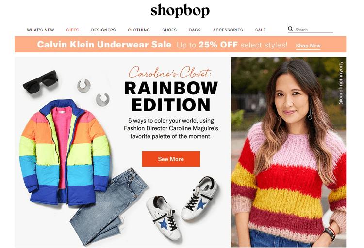 shopbop laman web online shopping popular di malaysia
