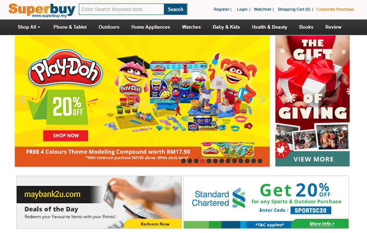 superbuy malaysia laman web online shopping malaysia