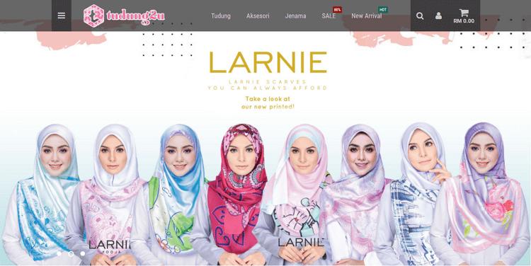 tudung2u laman web online shopping untuk pakaian muslimah