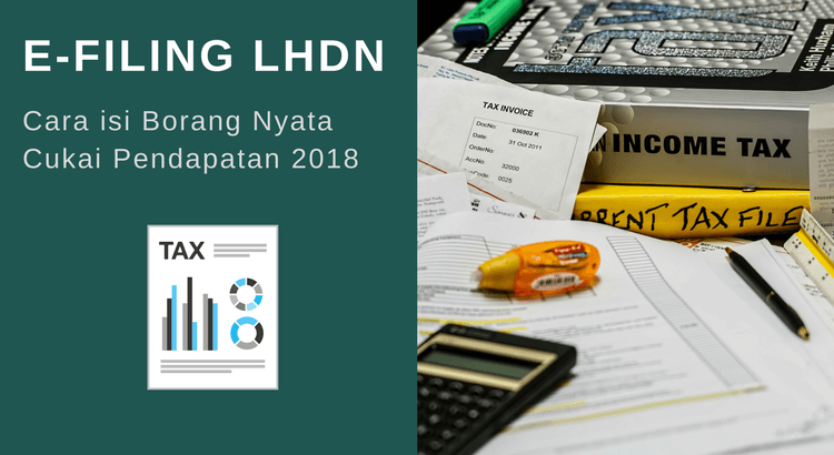 e-Filing LHDN: Cara isi eFiling Borang BE Online 2019 [Lengkap]