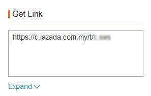 tracking link lazada affiliate