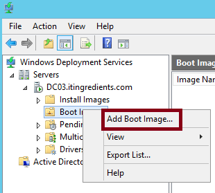 How to deploy OS through WDS (1)