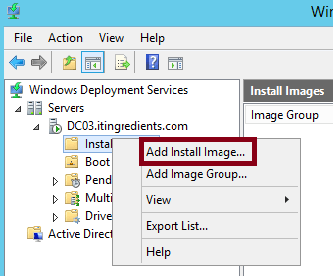 How to deploy OS through WDS (10)